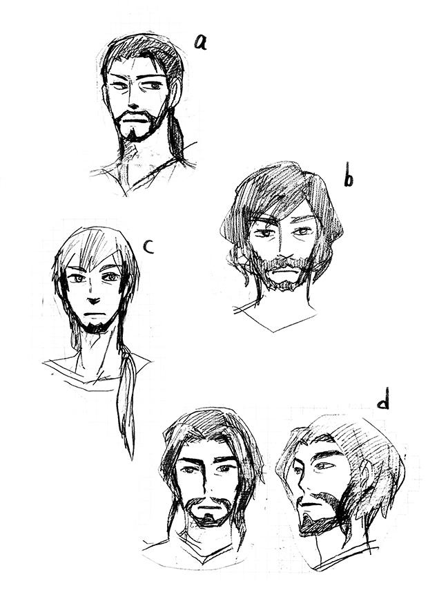King Face Concept