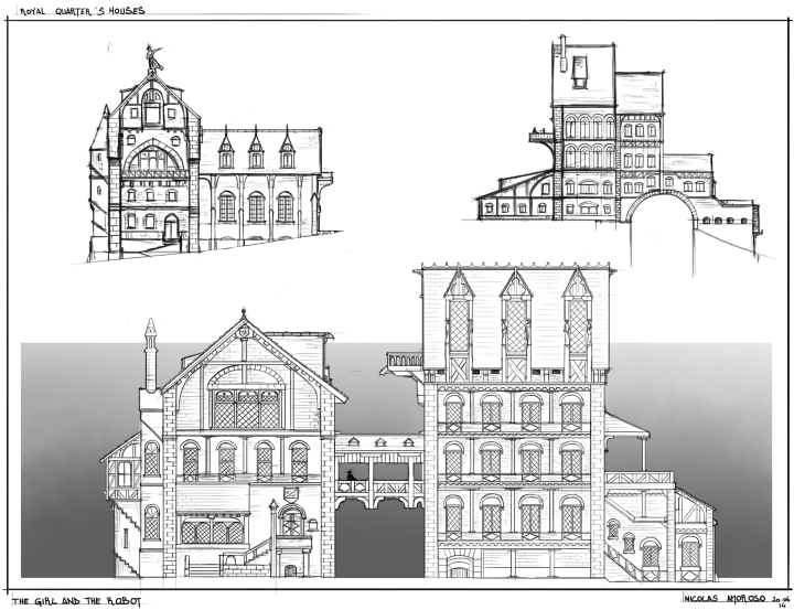royal quarter 's house