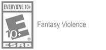 Everyone 10 Descriptor Icon (Web-Gray) - Fantasy Violence